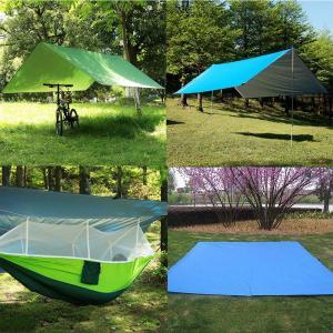 MIGHTDUTY 防水タープ、天幕シェード、多機能 軽量 UV日焼け止め 紫外線カット コンパクト キャンプ ピクニック用 3*3m 2?|idr-store