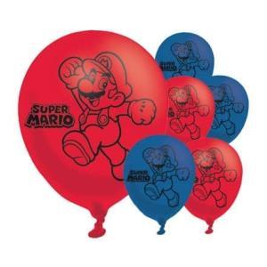 Mario Brothers (マリオブラザーズ) パーティー バルーン 6つセット|idr-store