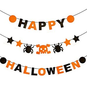 ハロウィン パーティー 飾り ピッタリ かわいい ガーランド halloween 飾り付け イベント 飾り ガーランド 南瓜 かぼちゃ カボ|idr-store