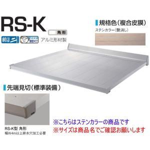 DAIKEN RSバイザー RS-K型 D1000×W3900 ステンカラー (ステー無) 角型  ...