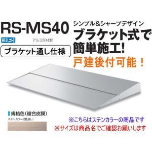 DAIKEN RSバイザー RS-MS40F D400×W1100 ステンカラー (ブラケット通し仕...