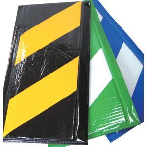 MF エムエフ株式会社 コーナークッション 安全標示クッション材  1ケース(10枚入)色 黄/黒(代引不可)|iefan
