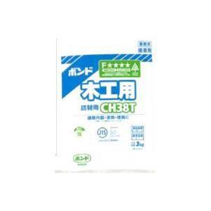 (あすつく) CH38T コニシ 木工用ボンド CH38T 詰替用 3kg×6袋(1ケース)|iefan