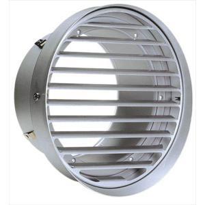 西邦工業 SEIHO SVK125T-VP 外壁用アルミ製換気口 (フラットグリル(ワイド水切り付)...