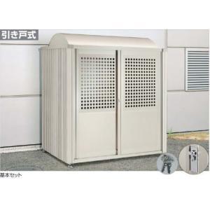 四国化成 ゴミストッカー PM型 LGSPM-1820 LGSPM-H1820 床付 連棟ユニット ※