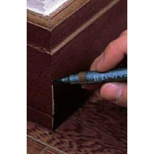 建築の友 住まいのマニキュア 筆ペンタイプ 単色 フローリング、家具の傷補修に|iefan