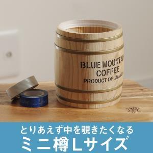 樽 国産杉材 Lサイズ おしゃれ ディスプレイ 店舗什器 木樽 西海岸風 インテリア コーヒー樽の画像