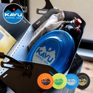 シアトル発のブランド「KAVU」 カブー ディスクはKAVUロゴの入ったフライングディスク。 素材に...