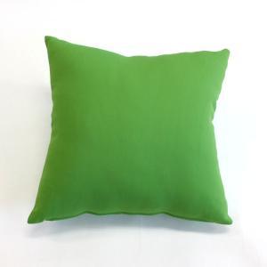 背当てクッション 48cm角型 スムース生地使用 グリーン|ifabric