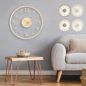 壁掛け時計 掛け時計 おしゃれ 時計 静音 デジタル 北欧 シンプルなデザイン お洒落 見やすい 子...