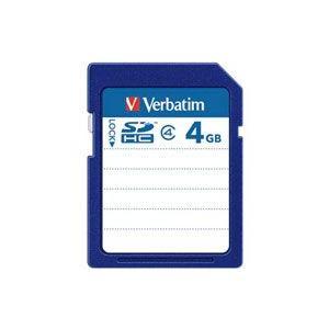 三菱化学メディア  SDHC4GYVB1 SDHCカード 4GB Class4