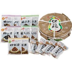 伊賀越漬(化粧樽詰合せ)50|iga-ichi