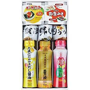 伊賀越 醤油、ぽんず、みそ、漬物8種セット iga-ichi