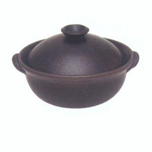 信楽焼 強化耐熱鍋 多宝鍋 彩|iga-ichi