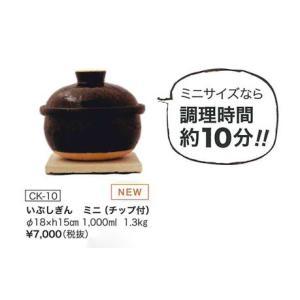 送料無料 長谷園 いぶしぎん(ミニ)|iga-ichi|02