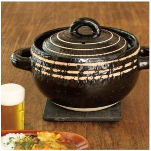 長谷園 カレー鍋 黒らく|iga-ichi