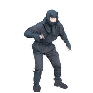 忍者衣装 大人用 黒|iga-ichi|02