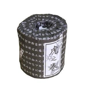 忍者文字トイレットペーパー「忍法 虎の巻」|iga-ichi