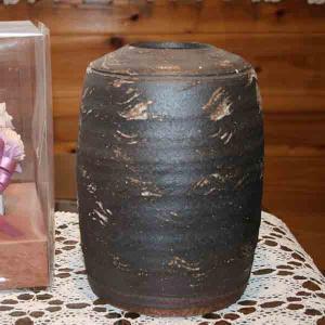 信楽焼 刷毛目 花瓶|iga-ichi