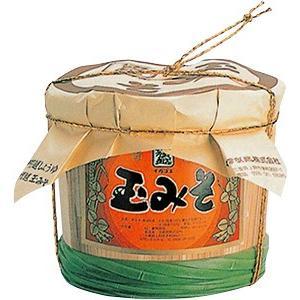 伊賀越 玉みそ 化粧樽入(3kg)