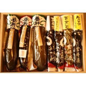宮崎屋 養肝漬(箱入詰合せ) 7種
