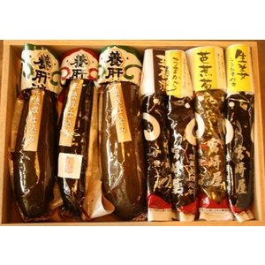 宮崎屋 養肝漬(箱入詰合せ) 7種|iga-ichi