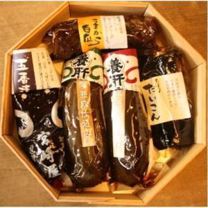 伊賀の老舗宮崎屋 養肝漬(樽入詰合せ) 5種|iga-ichi