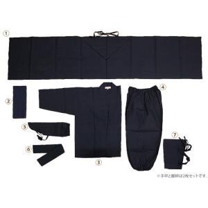 平頭巾忍者衣装9点セット Mサイズ|iganinja-isyo|06
