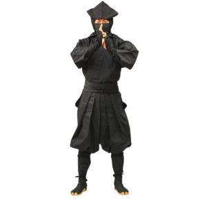 伊賀袴式忍者衣装7点セット(イカ頭巾タイプ)Mサイズ|iganinja-isyo