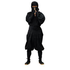 伊賀袴式忍者衣装7点セット(平頭巾タイプ) Lサイズ(男性用)|iganinja-isyo