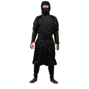 伊賀袴式忍者衣装7点セット(平頭巾タイプ) LLサイズ(男性用)|iganinja-isyo