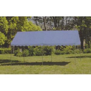 イベントテント 2間×4間 天幕+フレーム 天幕:カラー・上質生地 支柱1・8mタイプ|igarashihonten