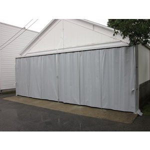 シートカーテン 超強力カラータイプ 幅2m81cm〜3m80cm×高さ3m91cm〜4m90cm|igarashihonten