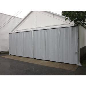 シートカーテン 超強力カラータイプ 幅3m81cm〜4m80cm×高さ10cm〜90cm|igarashihonten