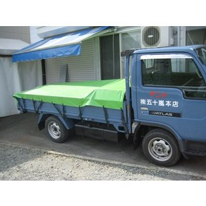 トラックシート強力タイプ オーダーメイド製作品 幅3m81cm〜5m80cm 長さ5m86cm〜6m85cmまで|igarashihonten