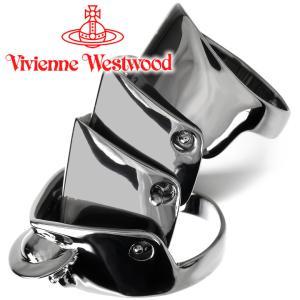 ヴィヴィアンウエストウッド Vivienne Westwood 指輪 リング アーマーリング ガンメタル iget