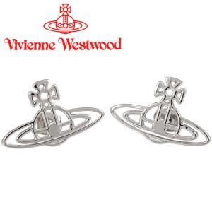 ヴィヴィアンウエストウッド Vivienne Westwood ピアス ヴィヴィアン シンラインフラットオーブピアス シルバー iget