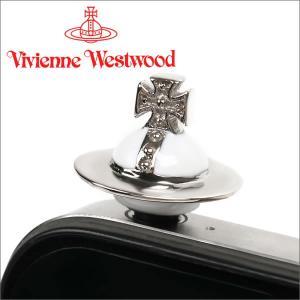 ヴィヴィアンウエストウッド スマホ Vivienne Westwood ピアス スマーホフォン イヤホンジャック アクセサリー ミニチュアオーブフォンチャーム ホワイト iget
