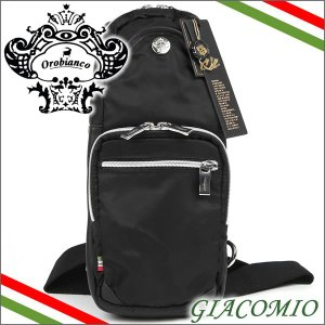 オロビアンコ Orobianco バッグ ボディバッグ ショルダーバッグ ブラック GIACOMIO NERO|iget