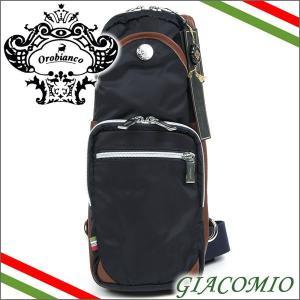 オロビアンコ Orobianco バッグ ボディバッグ ショルダーバッグ ネイビー GIACOMIO BLU|iget