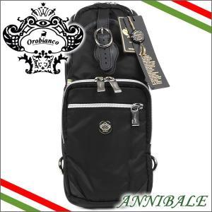 オロビアンコ Orobianco バッグ ボディバッグ ショルダーバッグ ブラック ANNIBALE NERO|iget