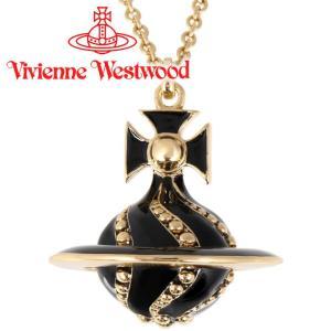 ヴィヴィアンウエストウッド VivienneWestwood ネックレス ヴィヴィアン アントワネットスモール3Dオーブペンダント ブラック iget