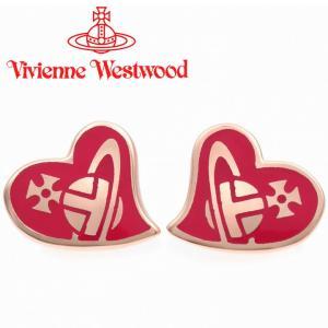 ヴィヴィアンウエストウッド Vivienne Westwood ピアス ヴィヴィアン アンフィスタッドピアス ピンクゴールド×フーシャ iget