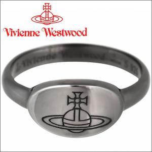 ヴィヴィアンウエストウッド Vivienne Westwood 指輪 リング ティリーリング ガンメタル iget