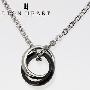 ライオンハート ネックレス LION HEART ダブルリングペンダント 04N124SM