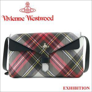 ヴィヴィアンウエストウッド ショルダーバッグ Vivienne Westwood バッグ クラッチバッグ チェック柄 10018 EXHIBITION iget