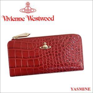 ヴィヴィアンウエストウッド 財布 ヴィヴィアン Vivienne Westwood L字ファスナー長財布 レディース レッド 10042V YASMINE DLIAH iget