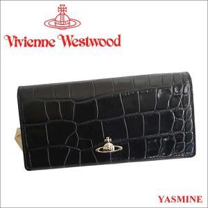 ヴィヴィアンウエストウッド 財布 ヴィヴィアン Vivienne Westwood 長財布 レディース メンズ ブラック 1032V YASMINE BLACK iget