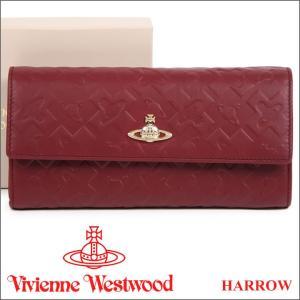 ヴィヴィアンウエストウッド Vivienne Westwood 財布 ヴィヴィアン 長財布 レディース ボルドー 321515 HARROW BORDEAUX iget
