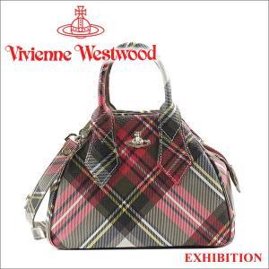ヴィヴィアンウエストウッド ハンドバッグ Vivienne Westwood ショルダーバッグ チェック柄 42010014 EXHIBITION iget